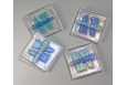 Haiku Coaster Set; Clear/Lt Blue/Lt Green