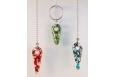 Fan Pulls/Key Rings Tribal Bead