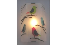 Birds Wall Sconce